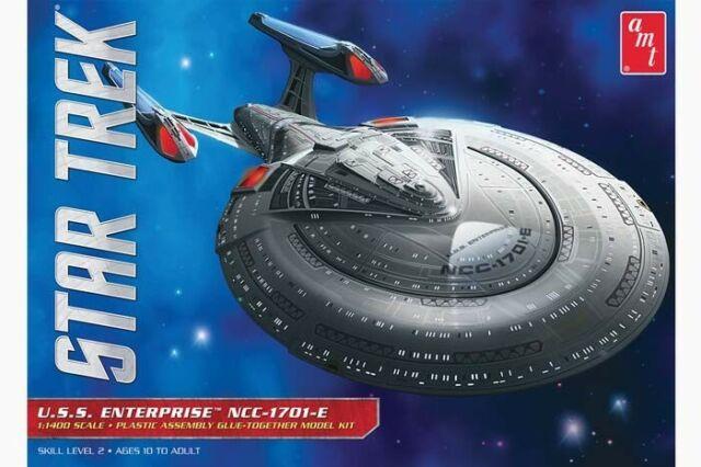 Amt Uss Enterprise 1701 D 1 1400 Amt Bausatz Star Trek Model Kit Gunstig Kaufen Ebay