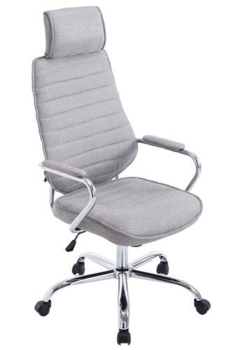 Bürostuhl Rako Stoffbezug Chefsessel Drehstuhl Schreibtischstuhl Chrom Stuhl