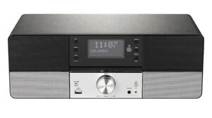 NEW-Tesco-DMS1701-DAB-FM-HiFi-Microsystem-with-CD-Player-amp-Bluetooth-Silver
