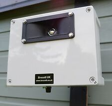 ADJUSTABLE ULTRASONIC REPELLER, WALL MOUNTABLE & WEATHERPROOF - CAT REPELLER.
