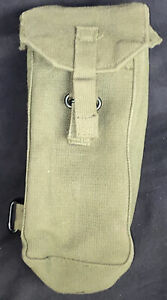 British Military 58 Pattern Webbing Right Front Pouch Without Side Pocket