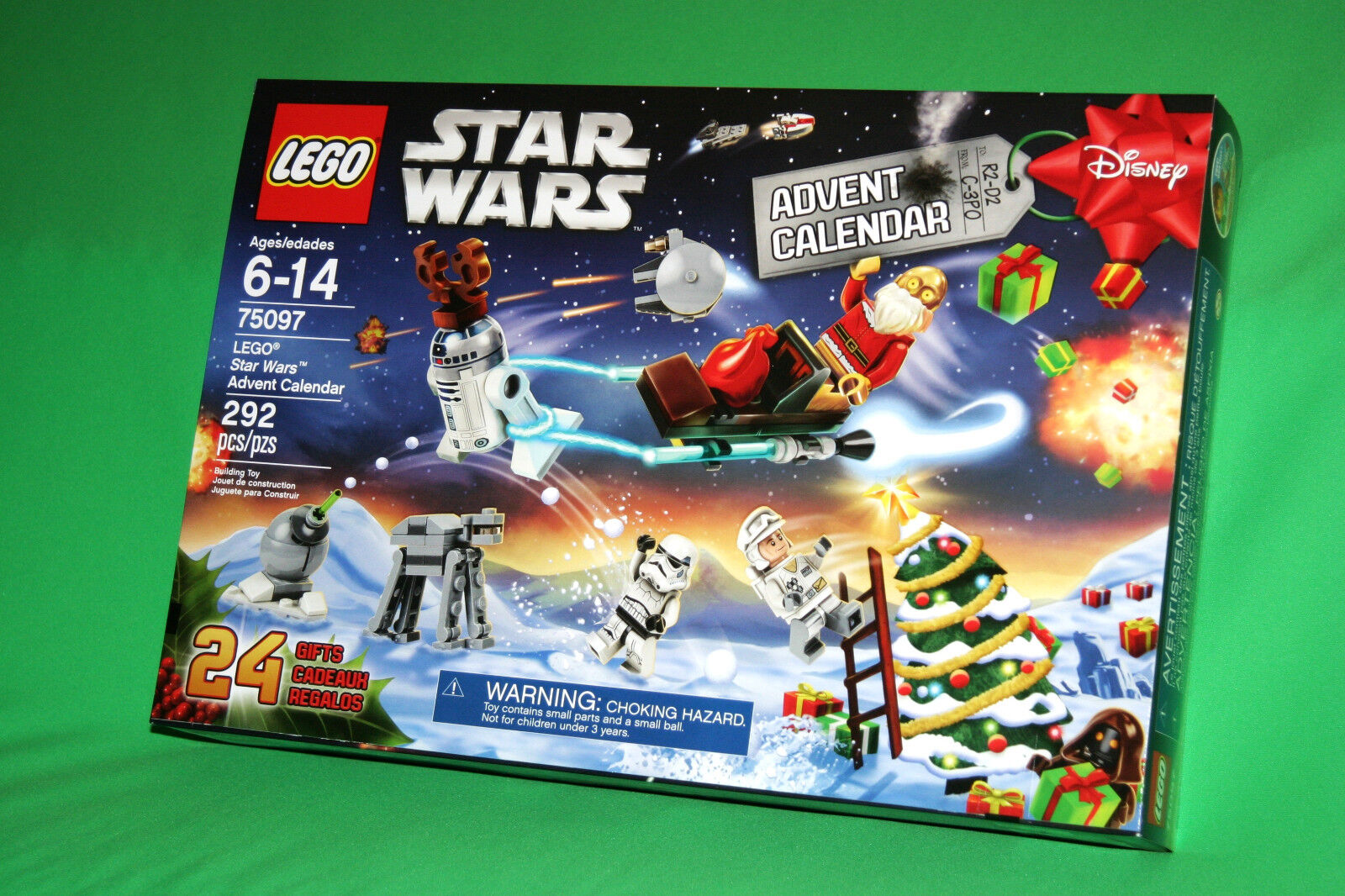 2015 Lego  estrella guerras Advent Calendar 75097 BNIB gratuito Shipping + C-3PO Poly  alla moda