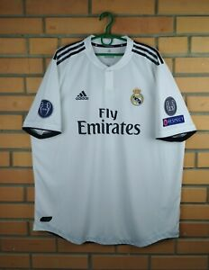 huge discount d9f4b 22c63 Details about Real Madrid authentic jersey 2XL 2019 climachill shirt CG0561  soccer Adidas