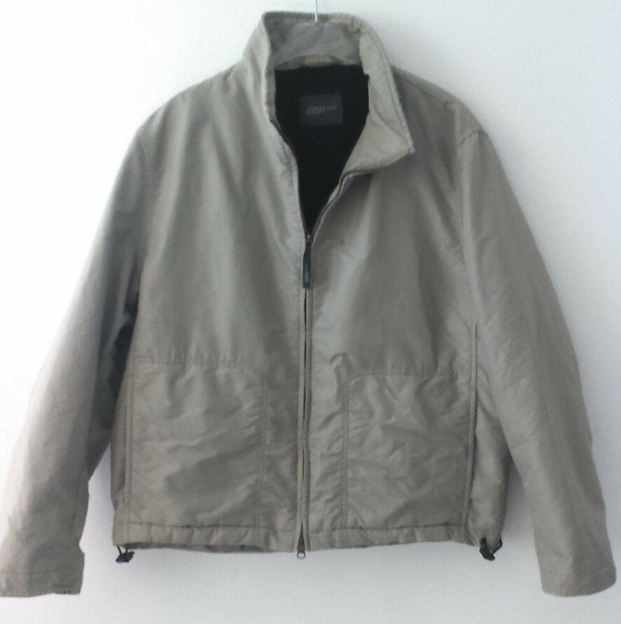 Joop Jeans Herrenjacke Jacke Gefüttert Grau Olive Größe 52 neuwertig