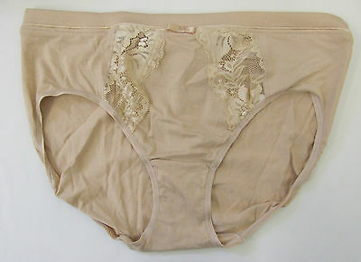 M /& S size 6 Low Rise floral lace Brazilian Knickers Panties Briefs White