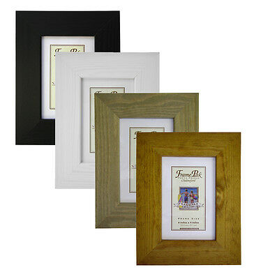 43mm wide x 15mm deep White Honey H5 Quality Wooden Photo Picture frame