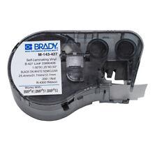 Brady 131571 Bmp51 Bmp53 Bmp41 Self Laminating Vinyl Wire Cable Labels M 143 427