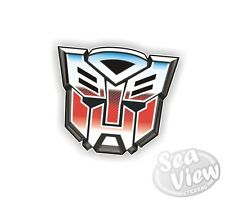 Autobot Transformers Robot Transformer Car Van Stickers Decal Bumper Sticker