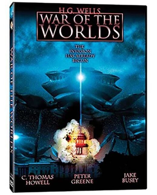DVD - War of the Worlds - Thomas Howell , Jake Busey  - New