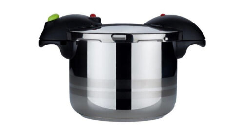 Evinox Pratik Stovetop Pressure Cooker Induction 18//10 Stainless Steel Catering