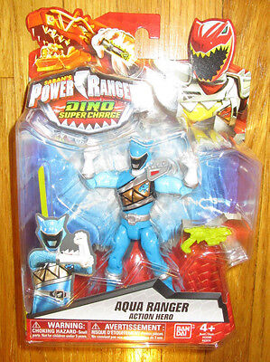 POWER RANGERS DINO SUPERCHARGE AQUA RANGER SUPER CHARGE 43231