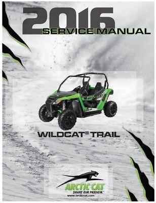 Arctic Cat 2014 ATV Wildcat Trail Wildcat Trail XT service manual binder