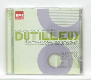 ROSTROPOVICH-CAPUCON-DUTILLEUX-symphony-no-2-le-loup-EMI-2xCDs-NM