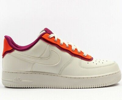 New Nike Air Force 1 07 Low Sail Red On Sale AO2439 101
