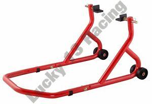 BikeTek-Series-3-Rear-Track-Paddock-Stand-Red