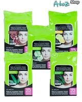 A Absolute Make Up Cleansing Tissues By Nicka-k 33ct, 5 Different Scent (1pack)
