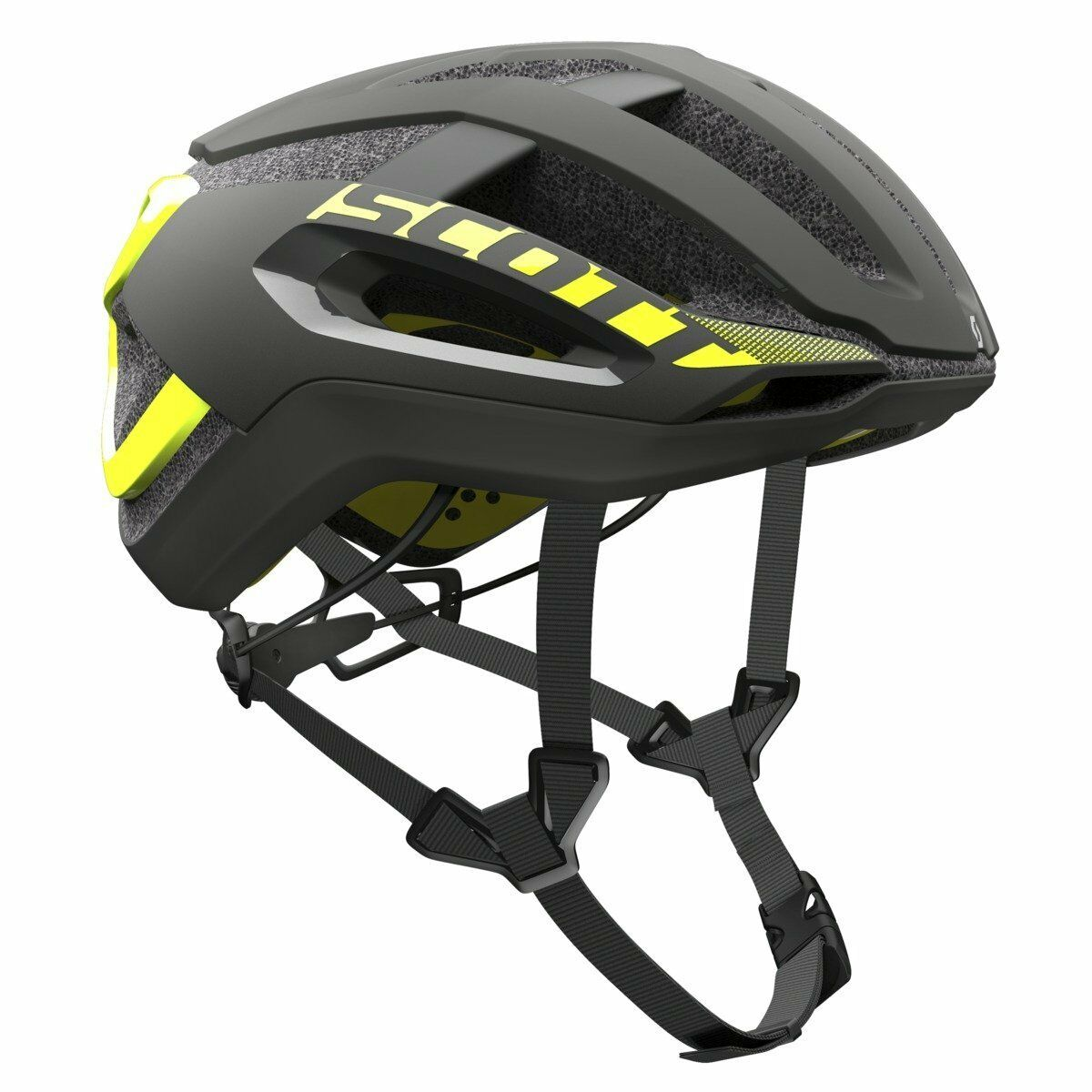 CASCO SCOTT HELMET CENTRIC PLUS Couleure noir-jaune RC taglia L