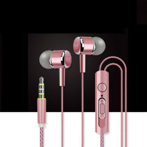 3 5mm Headset In-Ear Headphone 3D Sound Stereo Music Wired Earphone
