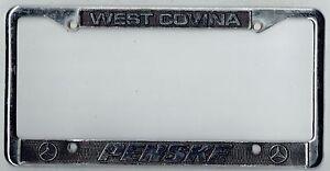Image Is Loading West Covina California Penske Mercedes Benz Vintage Dealer