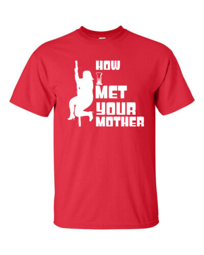 How I met your mother Fat lourd Pôle Danseur College Drinking homme tee shirt 128