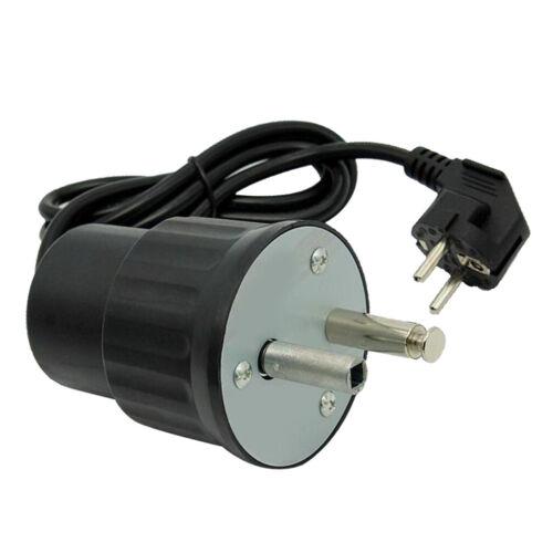 Motore elettrico spiedo girarrosto spina europea