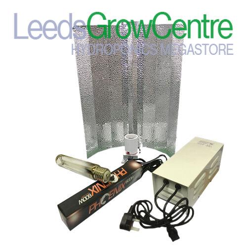 600 W luz de crecimiento Kit con metal lastre Hydroponics