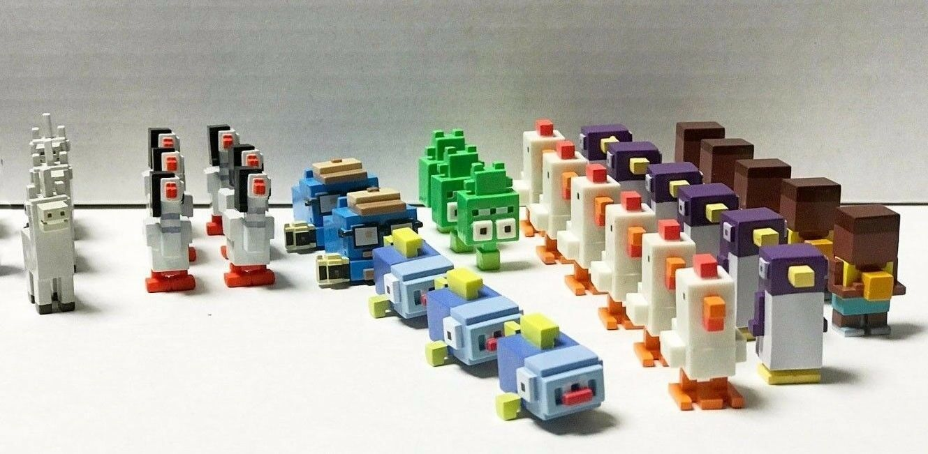 Crossy Road Mystery Mini Figures Lot of 54