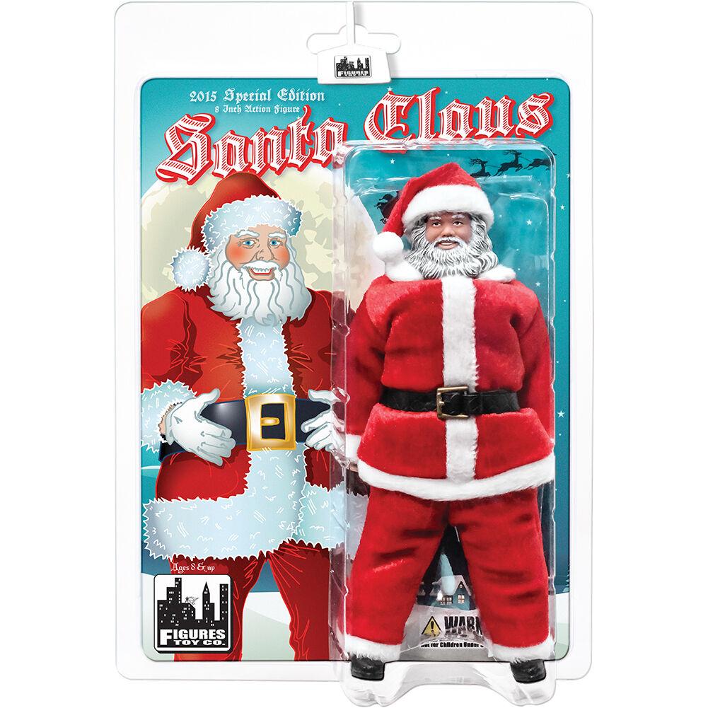 Santa Claus 8 Inch Retro Action Figure