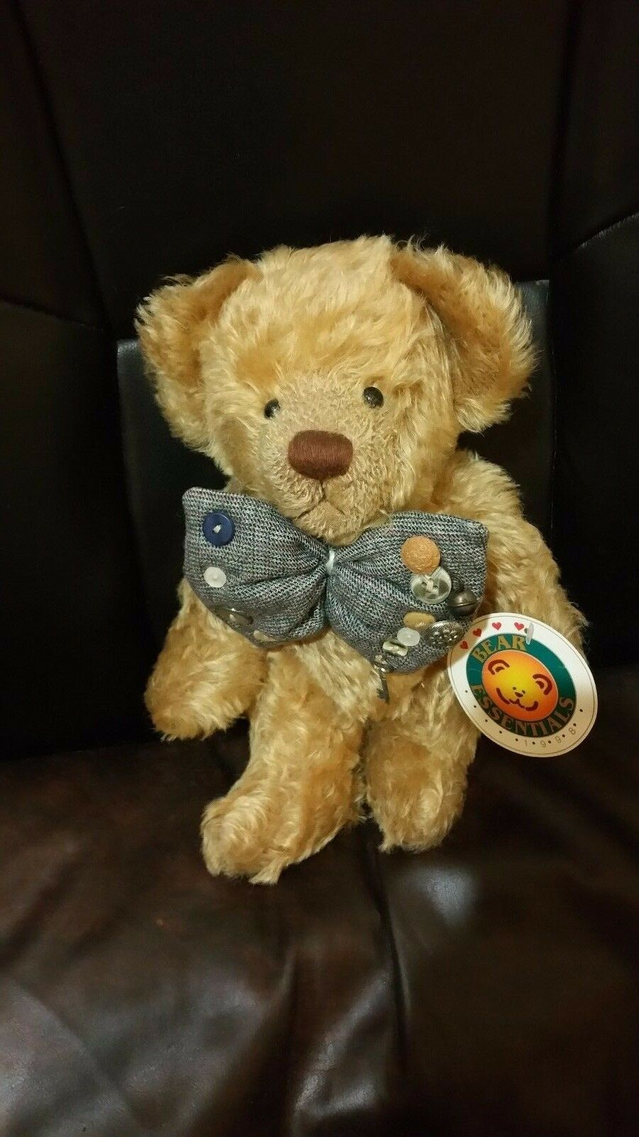 Brewster 11  Effanbee Bear by Bear Essentials Fully Jointed Mohair 1998