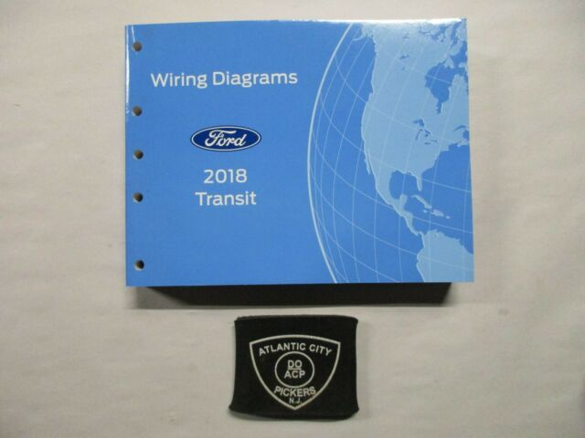 2018 Ford Transit Electrical Wiring Diagrams Service Manual