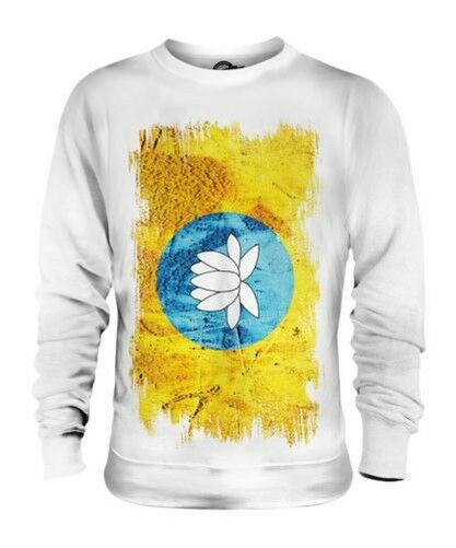 Kalmoukie Drapeau Grunge Unisexe Pull Maillot Vêtement T-Shirt Cadeau Football