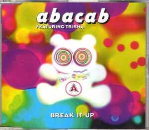 Abacab-feat-Trisha-Break-It-Up-CDM-2000-Italodance-6TR-Warner-France