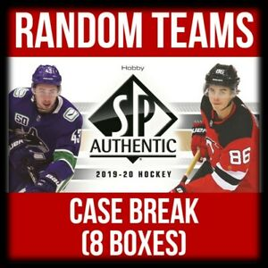 2019-20-UD-SP-AUTHENTIC-CASE-BREAK-8-BOXES-RANDOM-TEAMS-GREAT-VALUE-RTB1