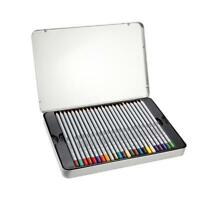 48 Color Marco Fine Art Drawing Non-toxic Pencils Set For Artist Sketch Tin Box
