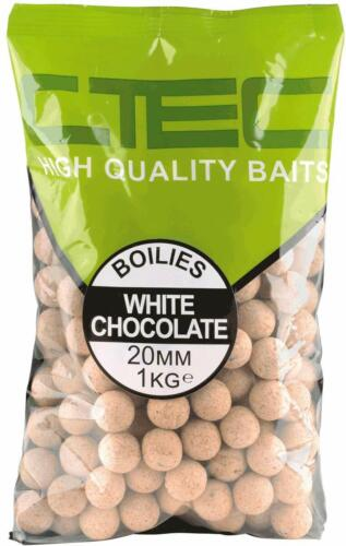 Spro C-TEC Boilies 1 Kg 20mm White Chocolate