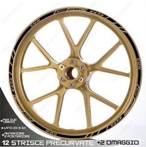 Trims Stickers Sport Wheel Wheel Stickers Bmw G 650 Gs 19 17 Black