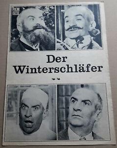 """FFS-Filmprogramm: LOUIS DE FUNES in """"Der Winterschläfer"""" mit Martine Kelly #56"""