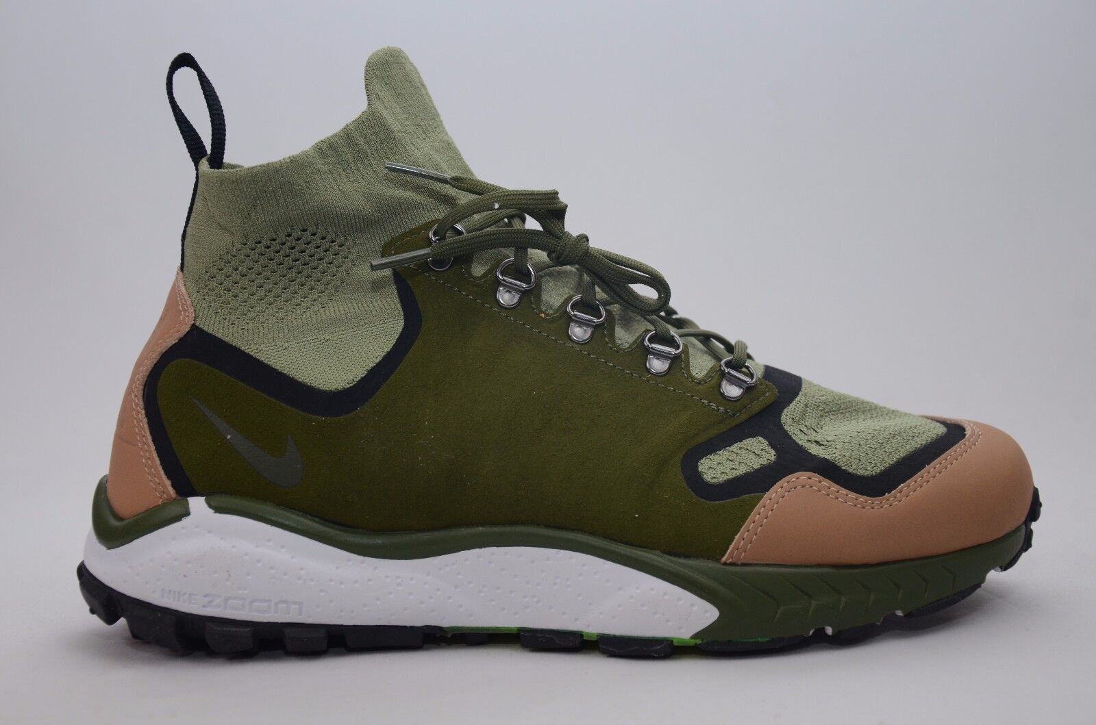4e0df2ffdebb6 Nike Air Zoom Talaria Mid Flyknit PRM 875784-300 Mens Sz 8 Shoes for ...