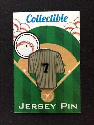 Unter Der Voraussetzung New York Yankees Mickey Mantle Revers Pin-classic Bronx Bomber Collectible-mick Baseball & Softball