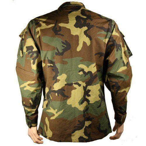 New Bulle Woodland Raid Military Tactical Combat BDU Shirt Ripstop