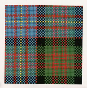 SCOTTISH TARTAN RUG 'Camerson of