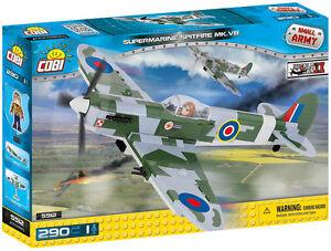 Spitfire Mk.V B plane COBI 5512 Small Army building blocks WWII toys bricks