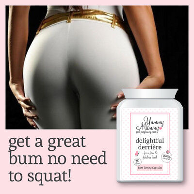 Onesto Yummy Mummy Post Gravidanza Cura Compresse Bum Tonificanti Ascensori & Stringe Bum- Bello E Affascinante