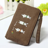 1 Pcs Lady Animal Case Coin Card Key Purse Wallet Bag Cosmetic Makeup Pouch KT15