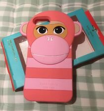 Kate Spade iPhone 7  7Plus Silicone Case/Pink Monkey-- New In Box