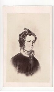 Vintage-CDV-Mary-Stuart-Queen-of-Scots-queen-of-France-Peter-Stewart-Photo