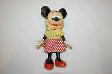 """8"""" Minnie Mouse Walt Disney Productions Hong Kong Toy"""