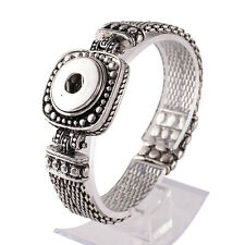 """Genuine Snap It Magnetic Bracelet 7 1/2"""" Fit Snaps Style Buttons"""