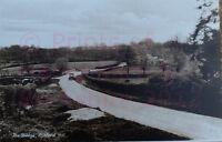 "PRINT 10"" X 7""  THE BRIDGE ASHFORD HILL HAMPSHIRE c1930"