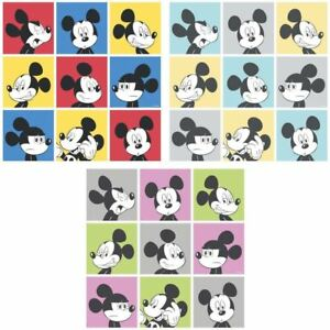 Image Is Loading NEW OFFICIAL DISNEY MICKEY MOUSE POP ART PATTERN